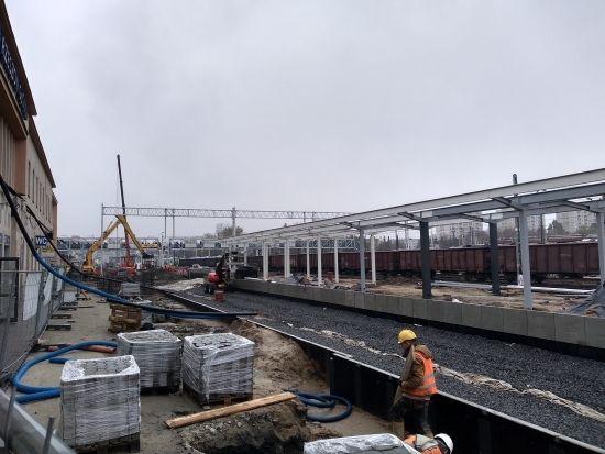 Przebudowa dworca PKP. Prace są mocno zaawansowane [FOTO] - Aktualności Rzeszów - zdj. 13